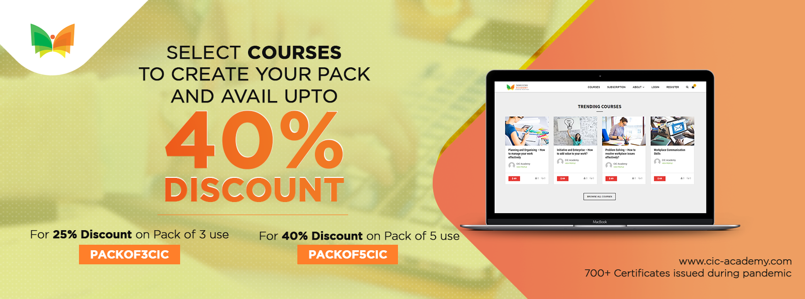 Courses Pack Offer